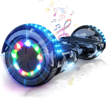 Self Balancing Scooter 6.5 inch - Hoverboard Electric Scooter Bluetooth Speaker