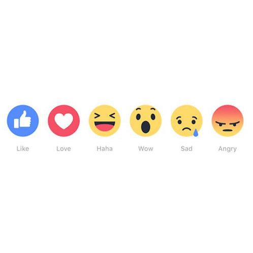 UK Facebook Post Reactions