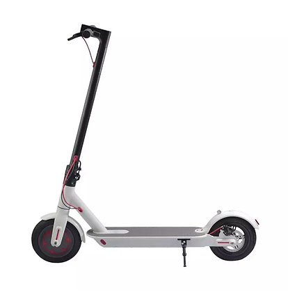 White Electric Scooter with APP