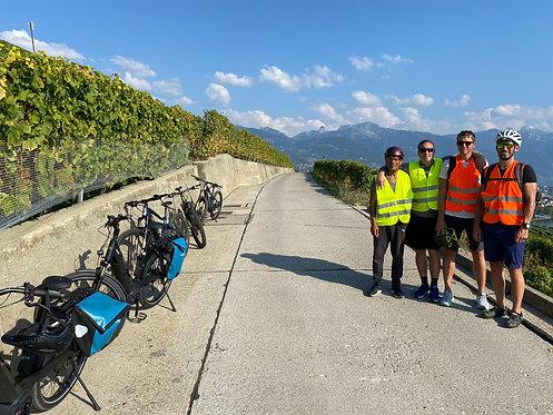 E-bike en Lavaux, 2 participants, CHF 200.- / pers.