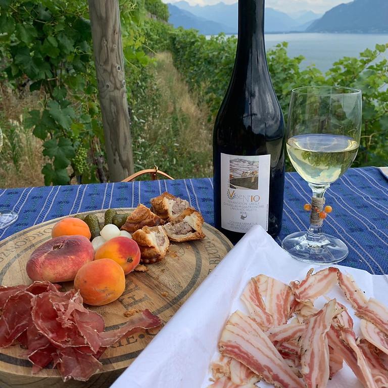 Randonnée spectaculaire et gourmande - Lavaux, vignoble en terrasses