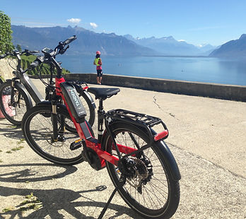 e-bike et panorama