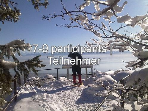 Winterzauber, ab 7 Teilnehmern, CHF 60.- / Pers.