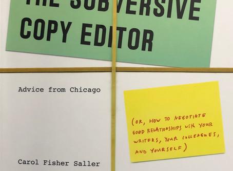 Book Review: The Subversive Copy Editor