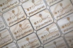 Laser engraved magnets that are laser cut out