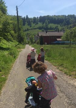 Kinderwagenausflug
