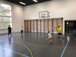 Federball Turnhalle