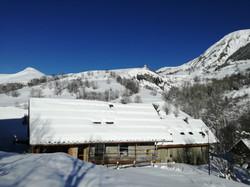 House in winter III