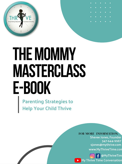 The Mommy Masterclass E-Book