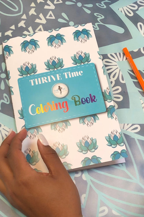 THRIVE Time Coloring Book