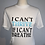 Thumbnail: Can't Breathe Tee: White w/Teal
