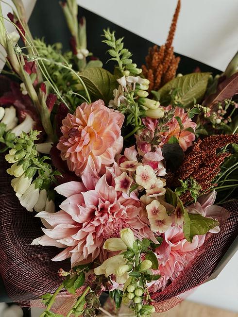 Wanaka flowers, cut flower bouquet