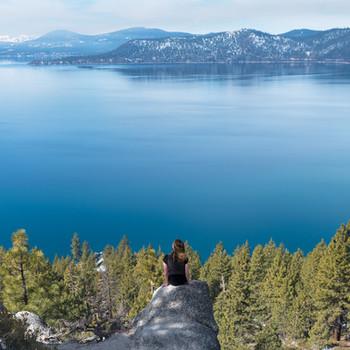 Monkey Rock Hike in Lake Tahoe
