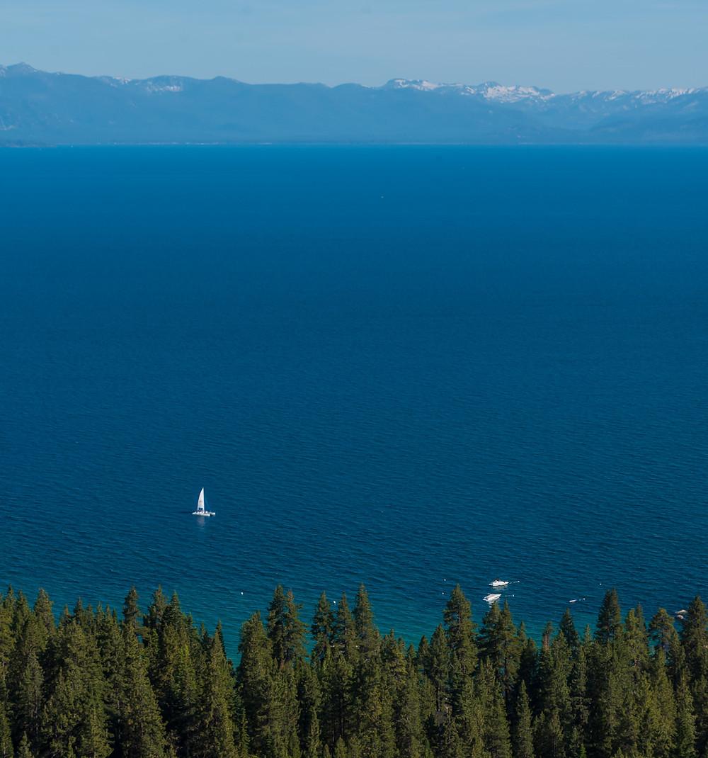 Stateline Fire Lookout in Lake Tahoe California