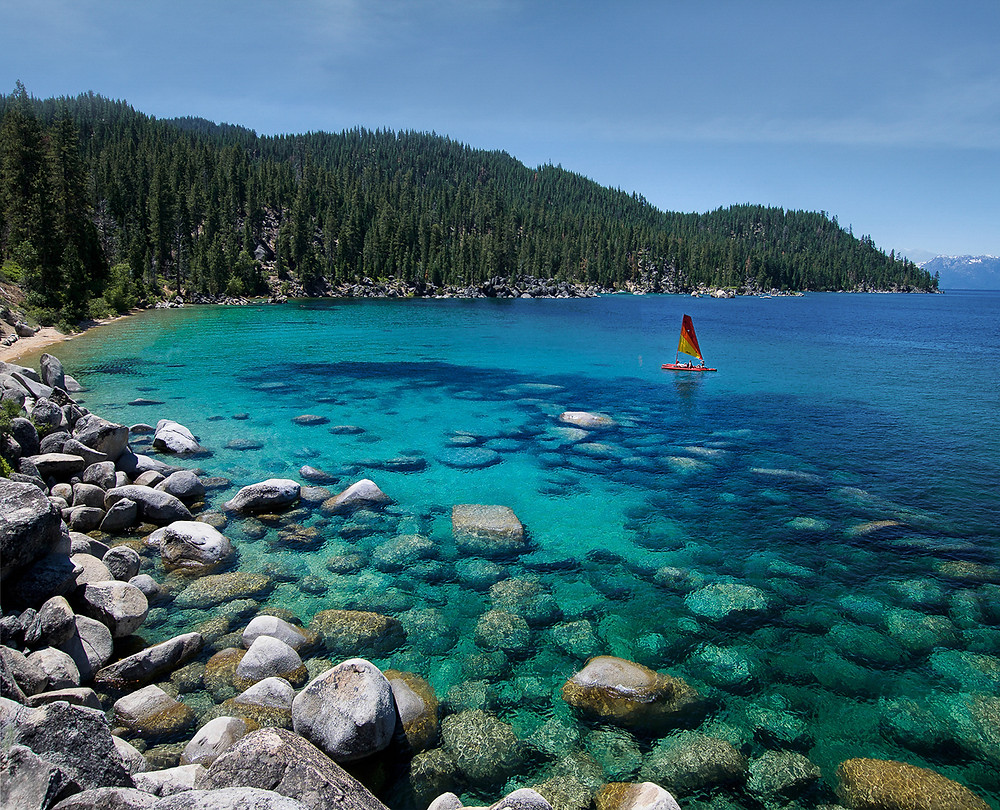Whale Beach on Lake Tahoe's East Shore
