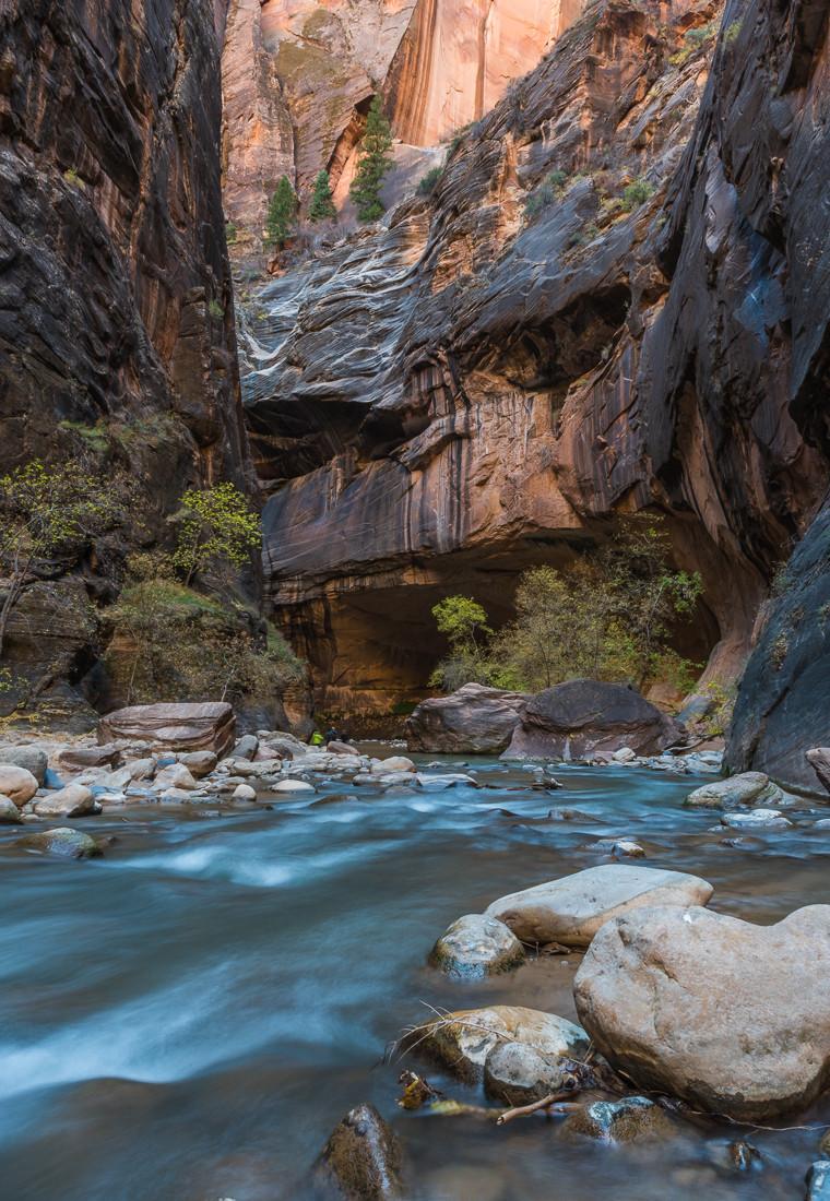The Narrows  Zion National Park Utah