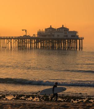 Surfrider Beach Malibu California
