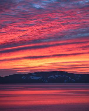 Lake Tahoe Afterburn