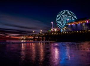 Santa Monica Pier, Los Angeles Californi