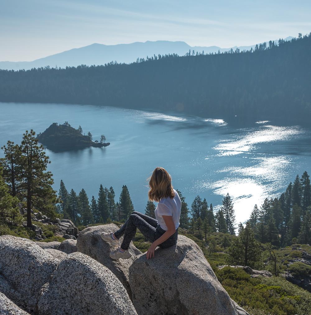Emerald Bay State Park in South Lake Tahoe California