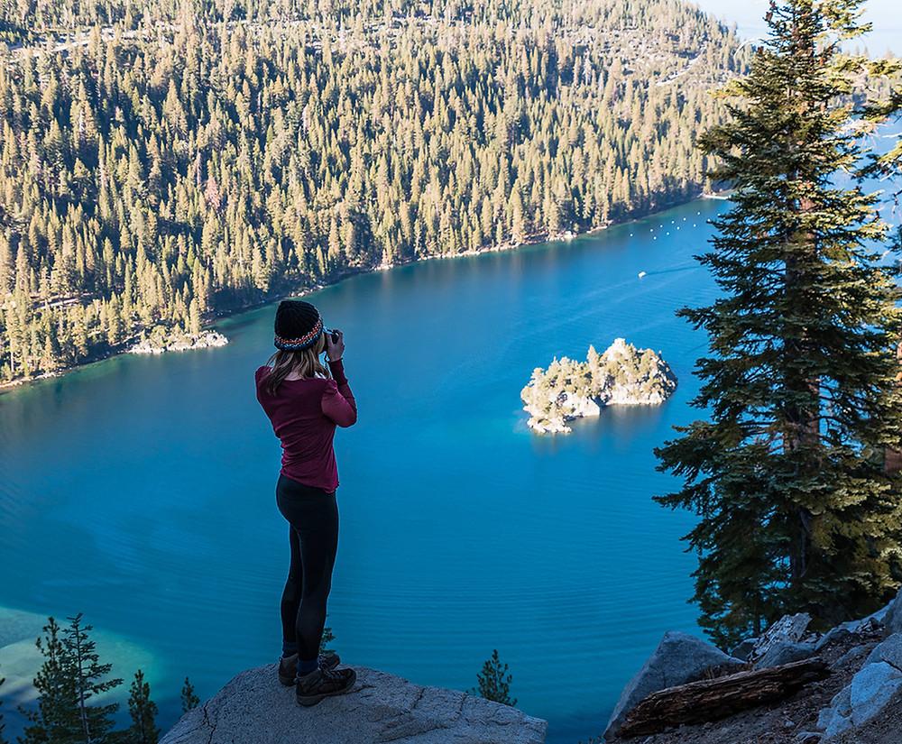 Emerald Bay in Lake Tahoe California
