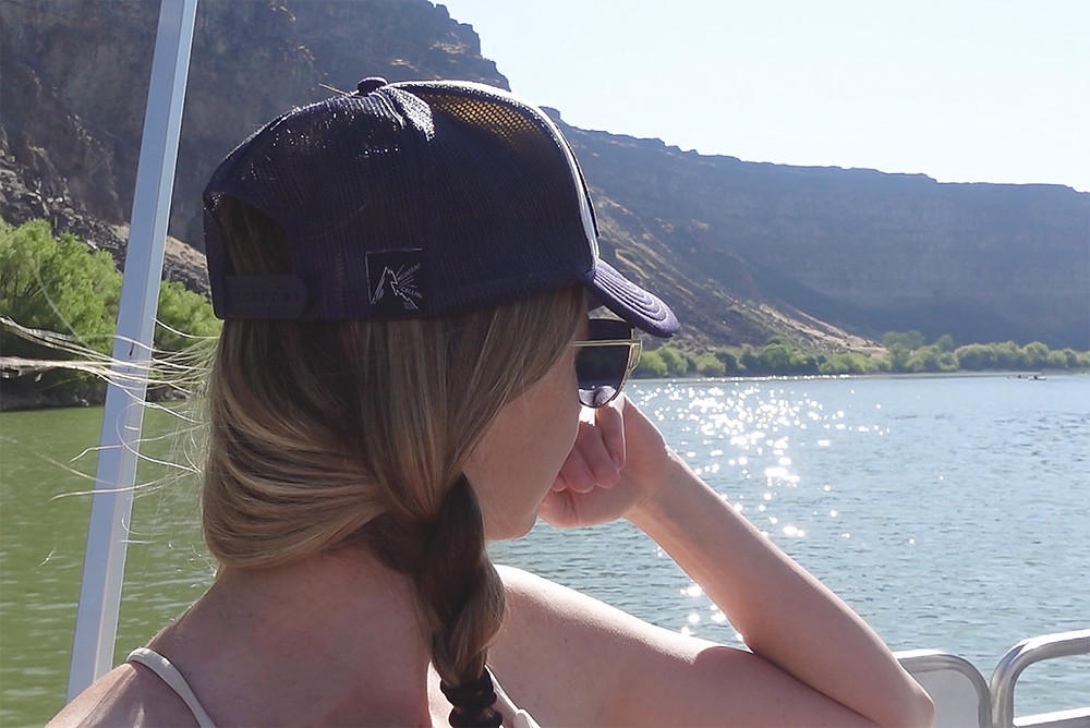 boat ride along snake river canyon in twin falls idaho