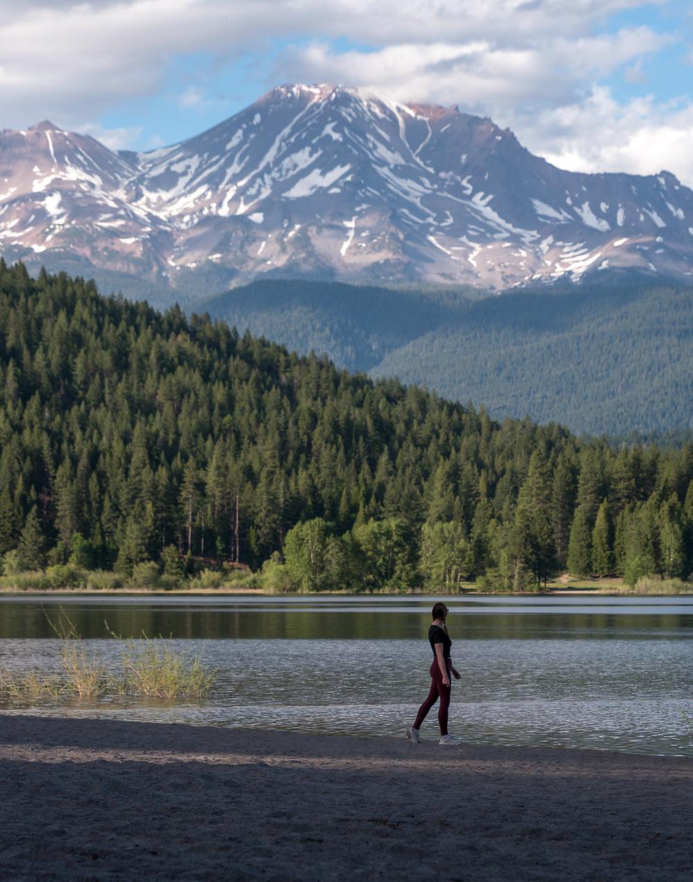 Lake Siskiyou in Mt Shasta California