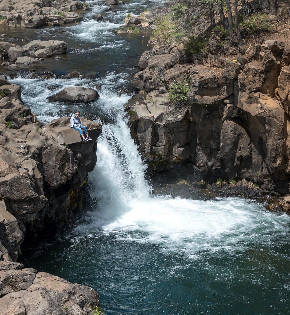 Lower McCloud Falls in northern California