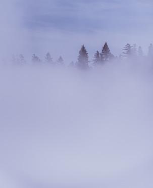 Inversion over Lake Tahoe