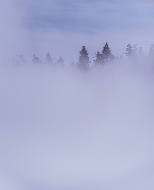 Inversion over Lake Tahoe