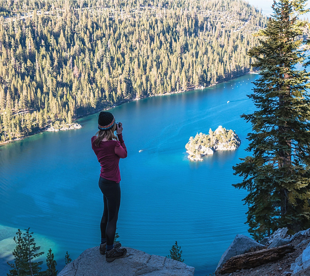 Views of Emerald Bay from Bayview Trail