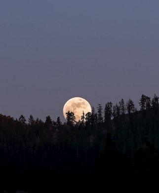 Lake Tahoe Moon Photography
