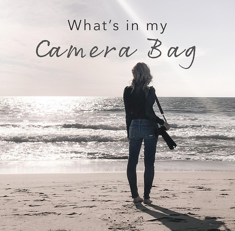 What's in My Camera Bag.  Gabriella Viola Photography Gear List