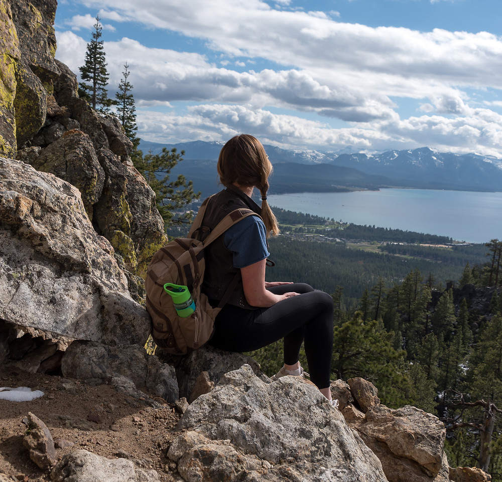 Castle Rock Hike in South Lake Tahoe Nevada