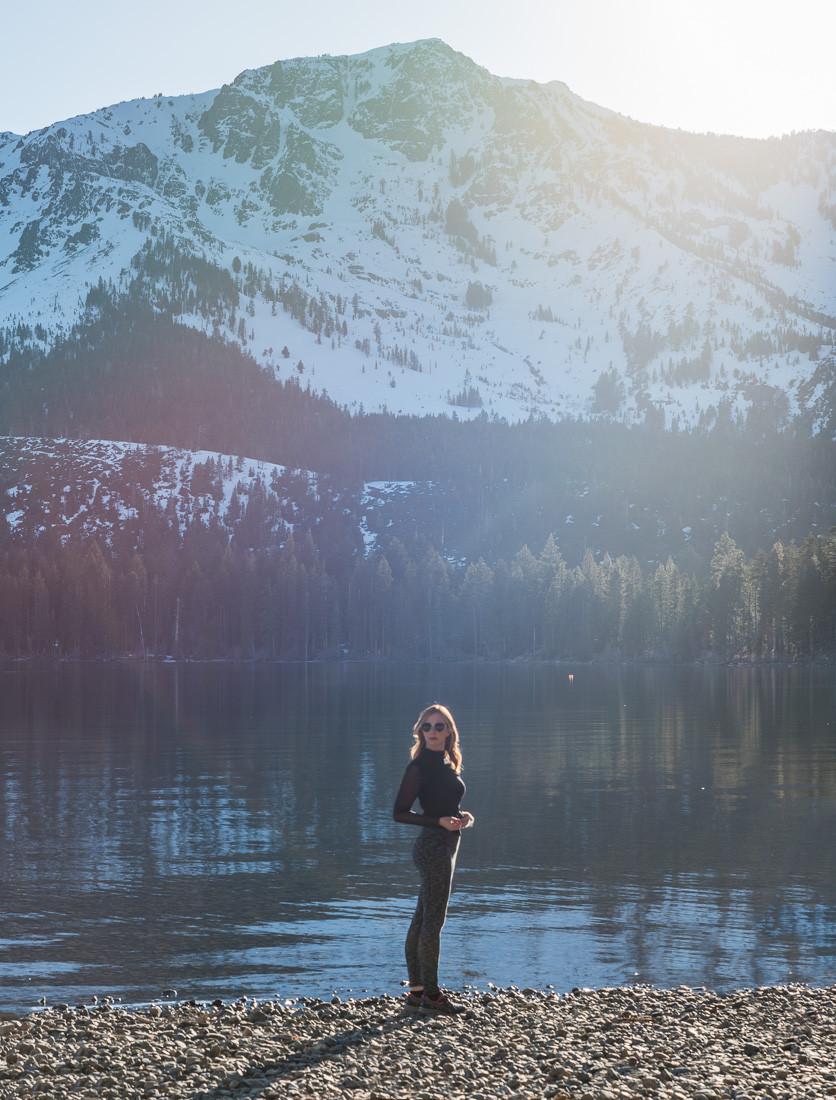 Fallen Leaf Lake in Lake Tahoe California
