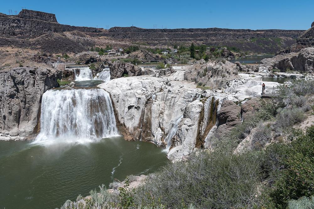 Shone Falls Scenic Overlook in Twin Falls Idaho