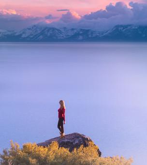 Dreamy Lake Tahoe Sunset