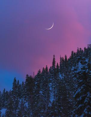 Tahoe Crescent Moon