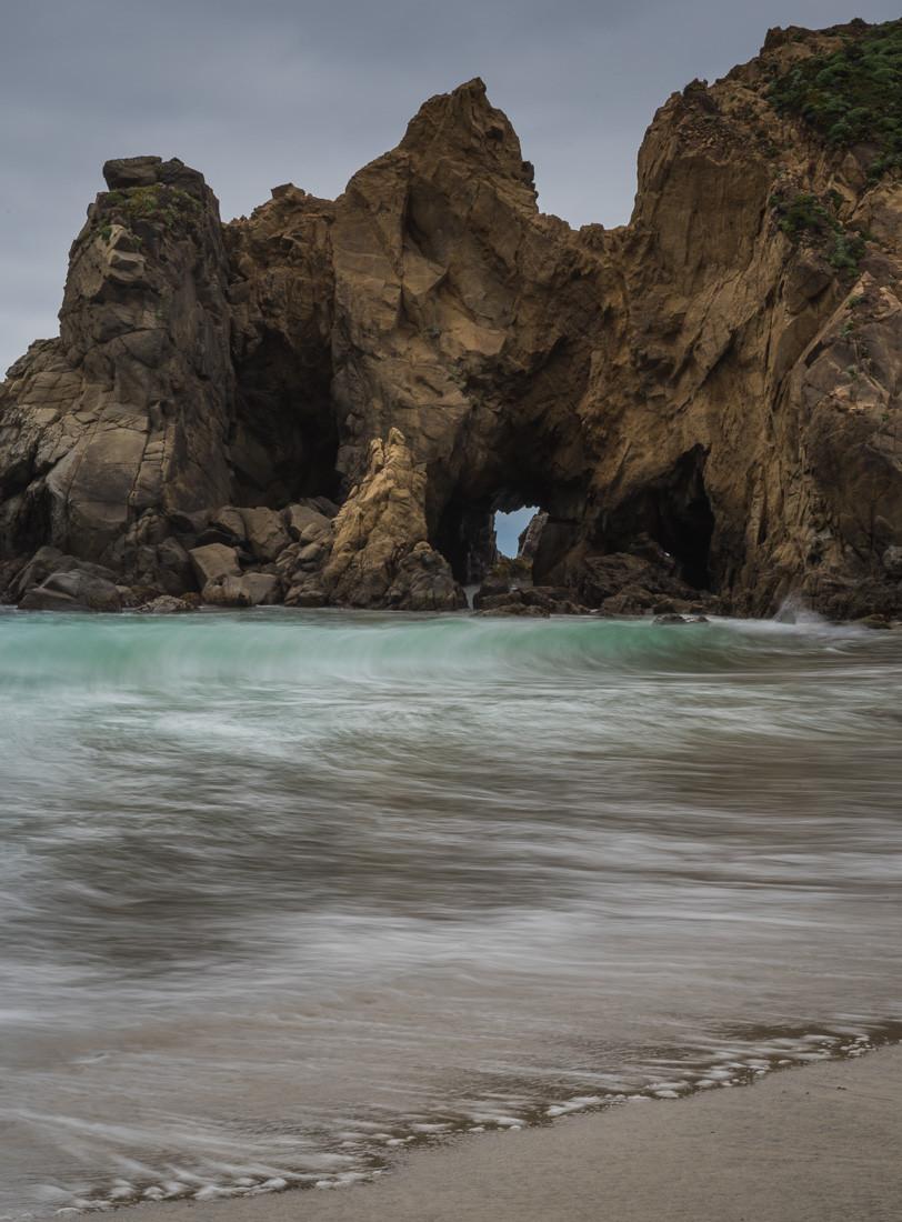 Pfeiffer beach big sur california pacific coast highway