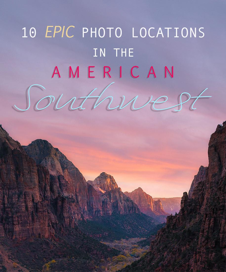Sunset at Angels Landing in Zion National Park, Utah