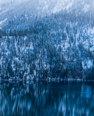 Cascade Lake in Lake Tahoe California