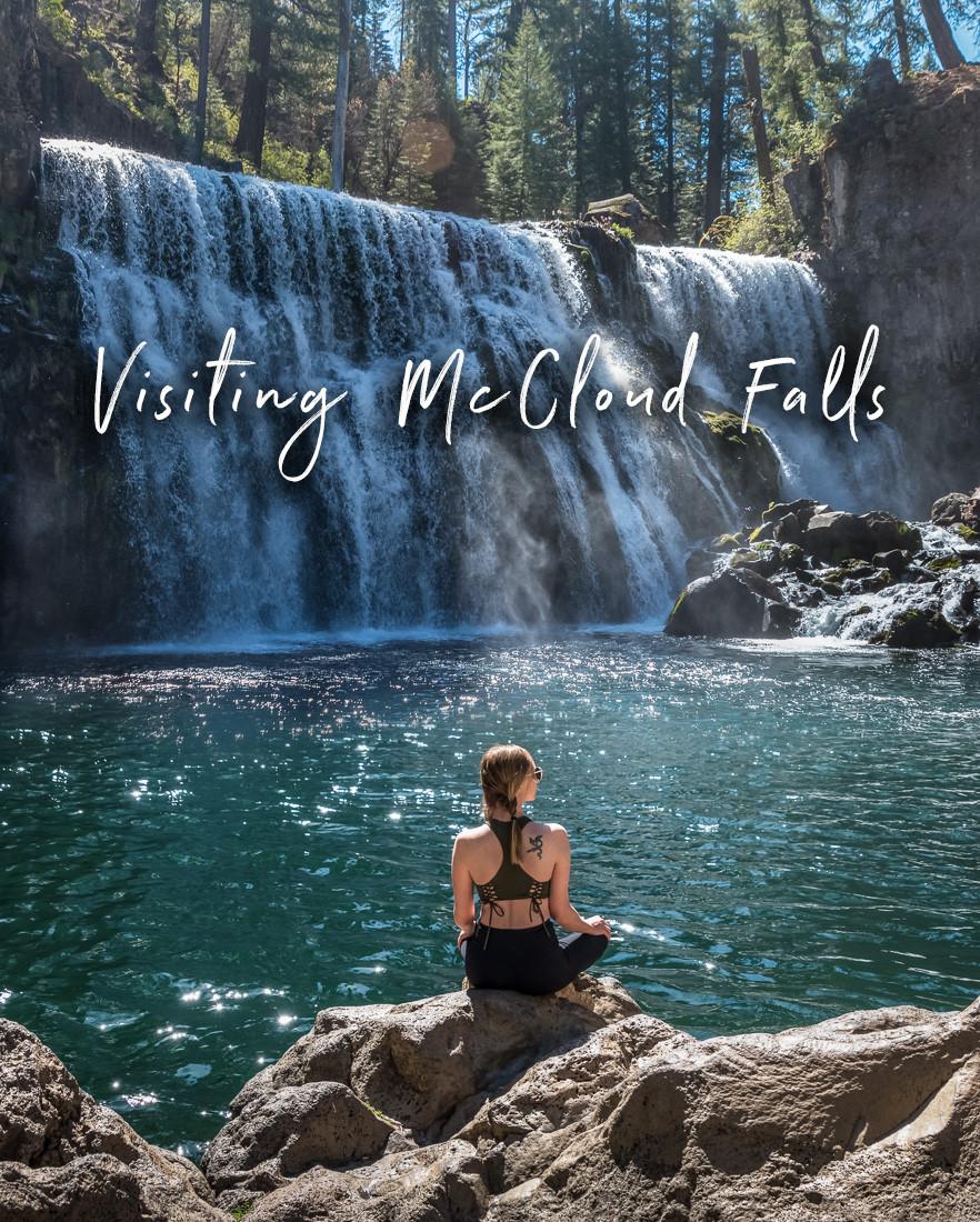 Visiting McCloud Falls in Northern California