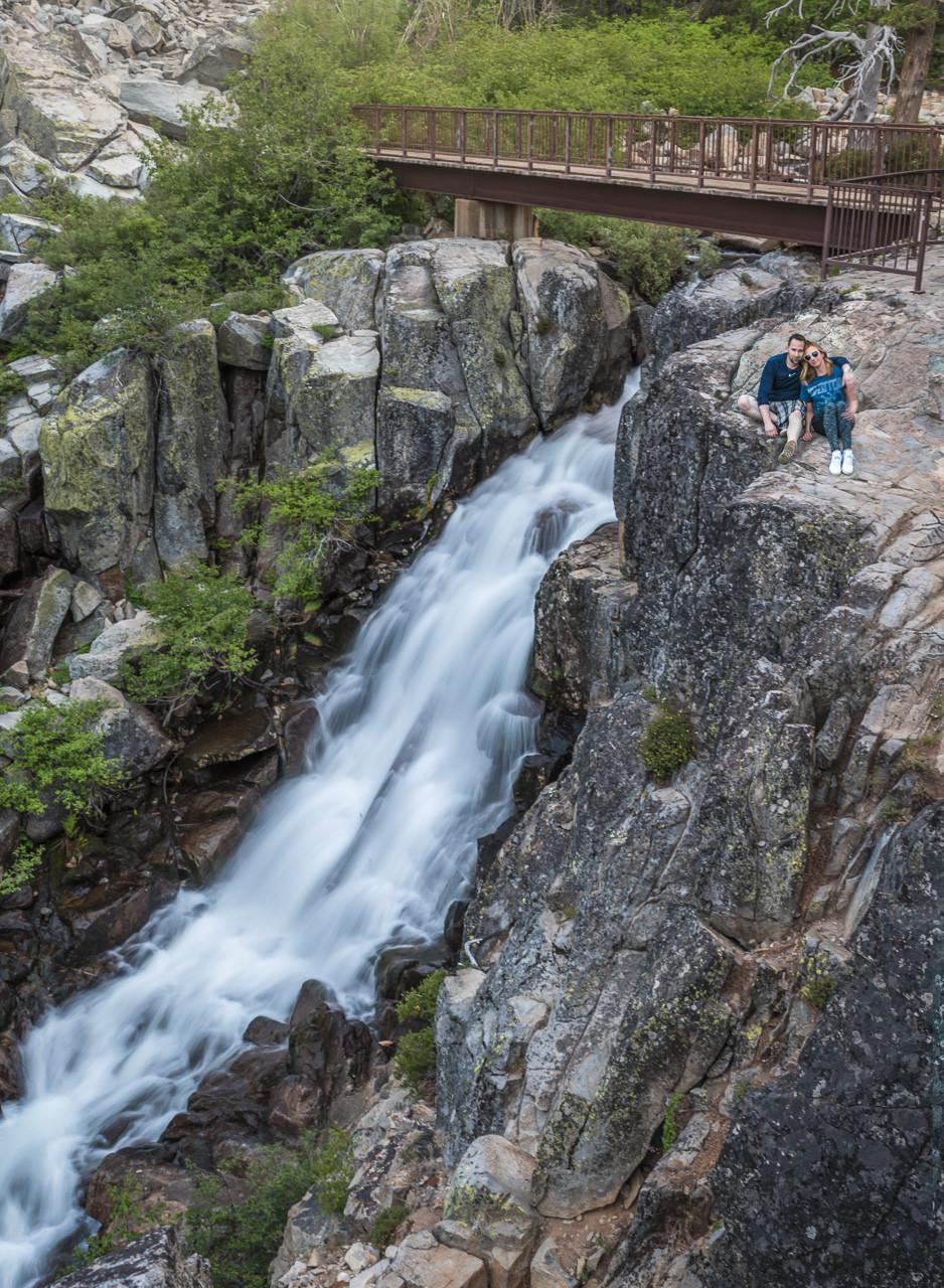 Eagle Falls in South Lake Tahoe California