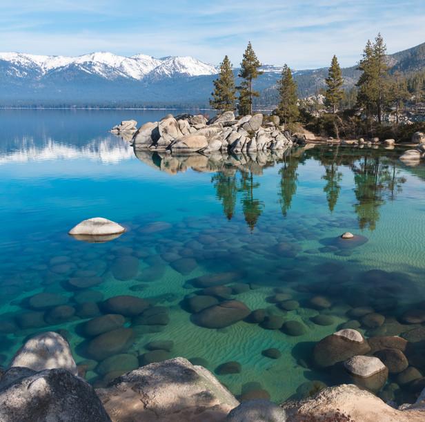 Sand Harbor in Lake Tahoe, Nevada
