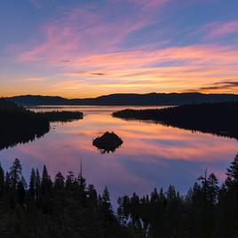 Emerald Bay Sunset Lake Tahoe