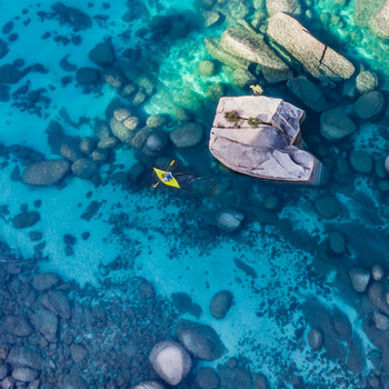 The best drone spots in lake tahoe