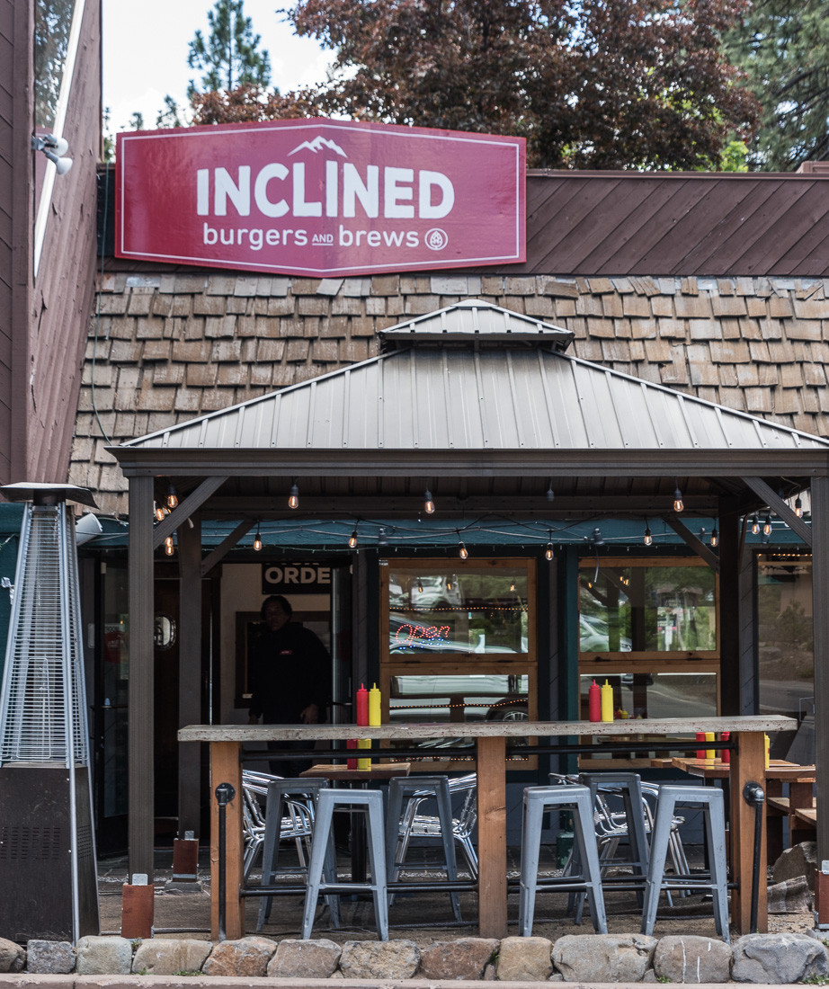 inclined burgers and brews in lake tahoe