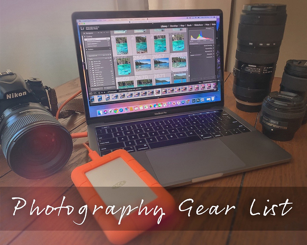 Photography Gear Guide