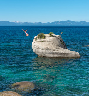 Bonsai Rock, Lake Tahoe Nevada