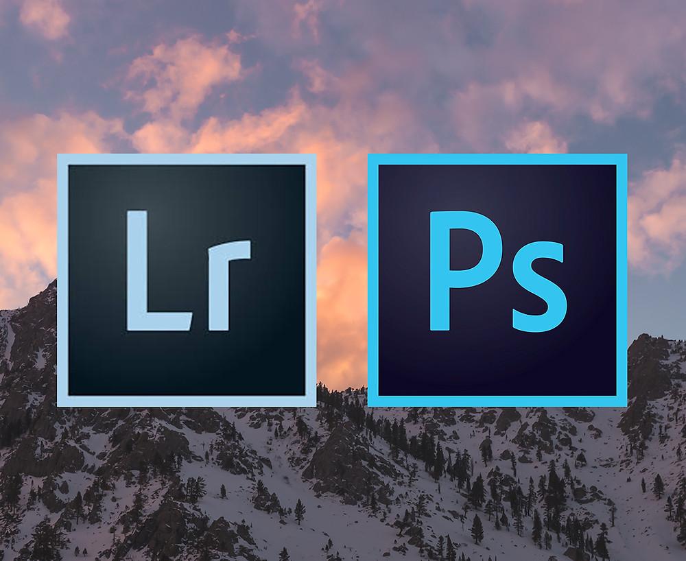 Adobe Lightroom and Photoshop